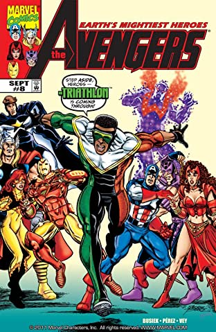 Avengers (1998-2004) No.8
