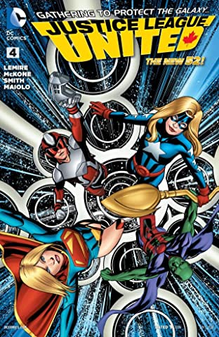 Justice League United (2014-) #4