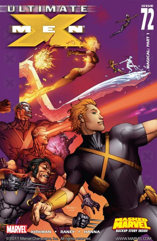 Ultimate X-Men #72