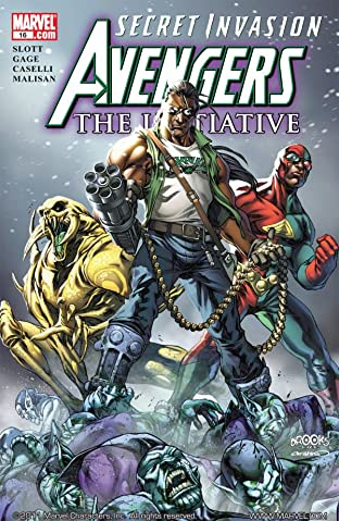 Avengers: The Initiative No.16