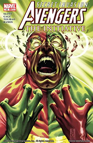 Avengers: The Initiative #19