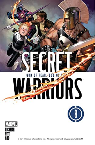 Secret Warriors (2008-2011) No.8