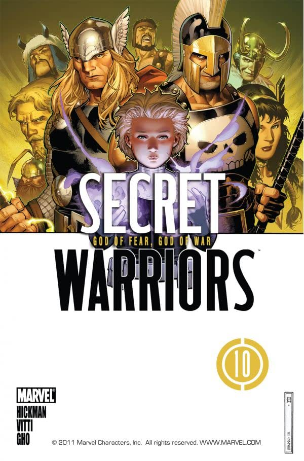 Secret Warriors (2008-2011) #10