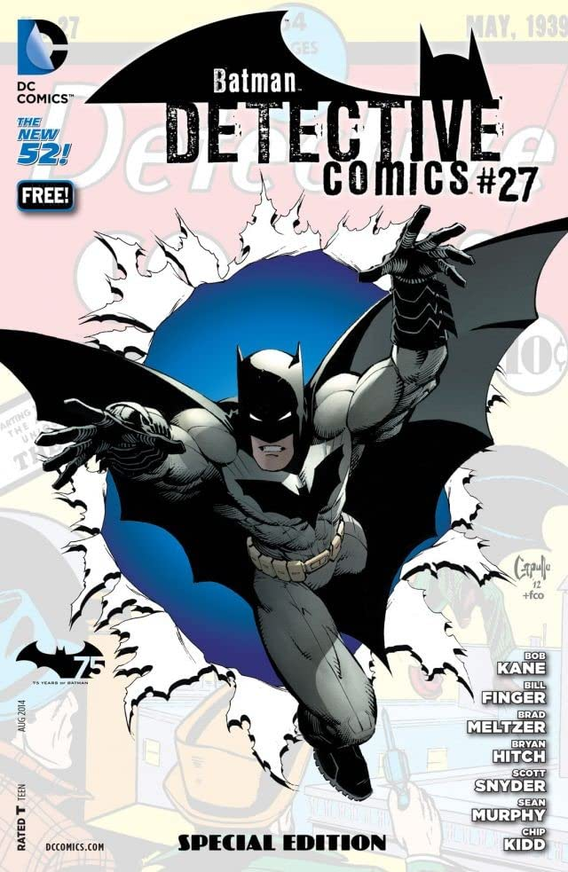 Detective Comics (1937-2011) #27: Special Edition (Batman 75 Day Comic)