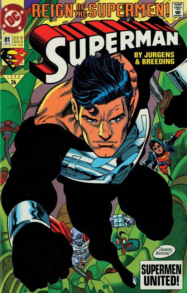 Superman (1987-2006) #81