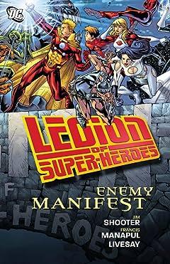 Legion of Super-Heroes (2005-2009): Enemy Manifest