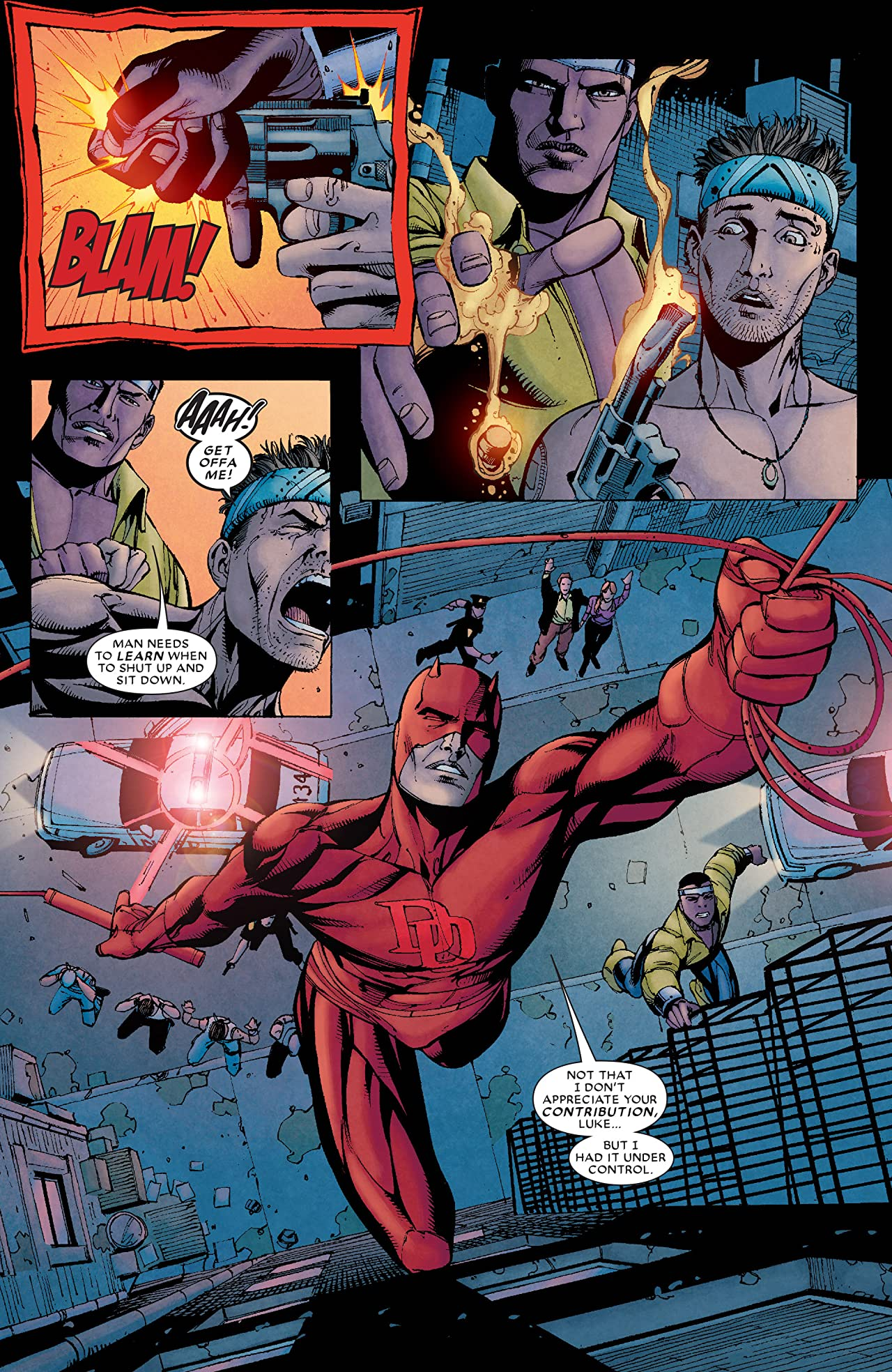 Daredevil: Cage Match #1