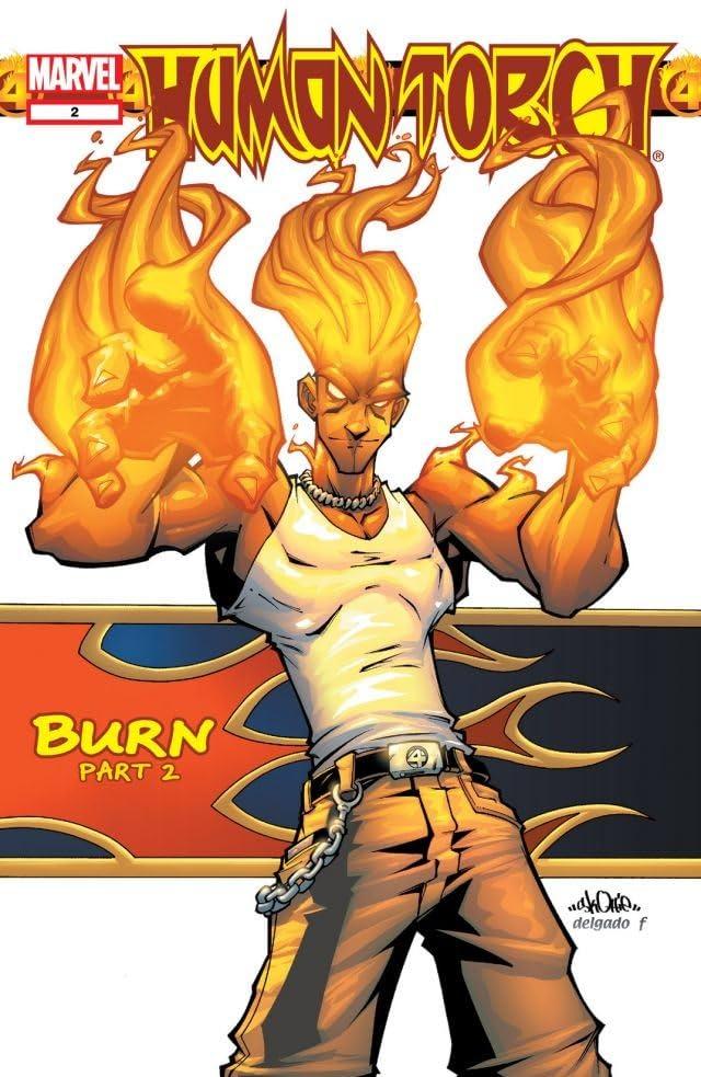 Human Torch (2003-2004) #2