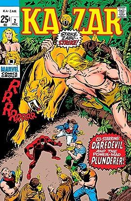 Ka-Zar (1970) #2