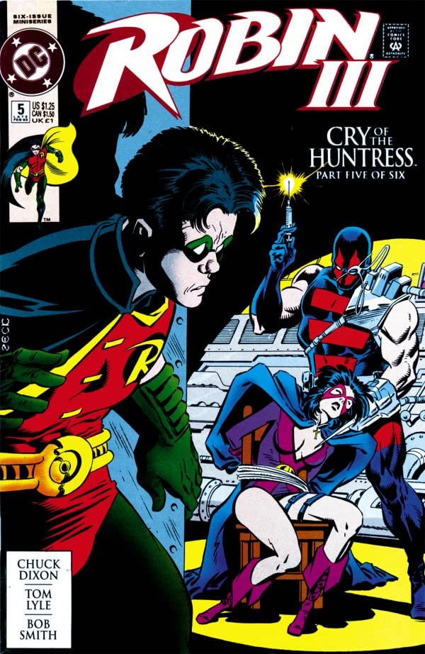 Robin III: Cry of the Huntress #5 (of 6)