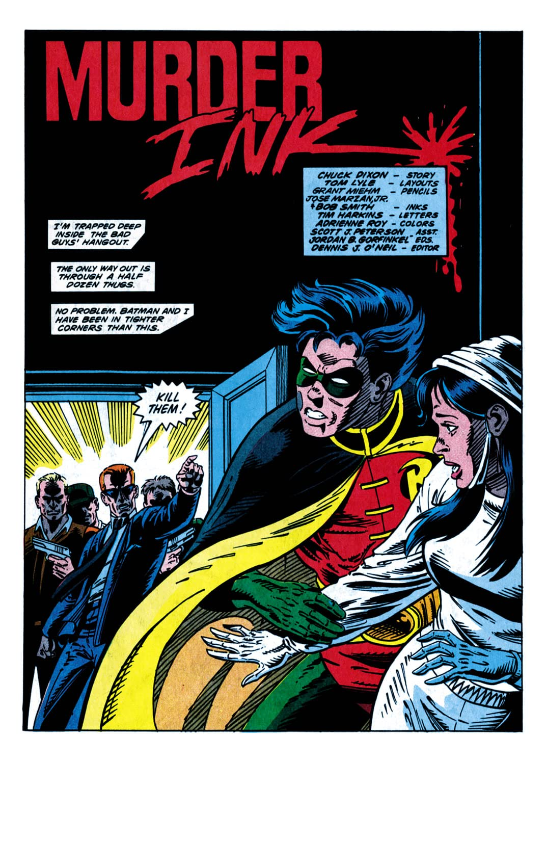 Robin III: Cry of the Huntress #6 (of 6)