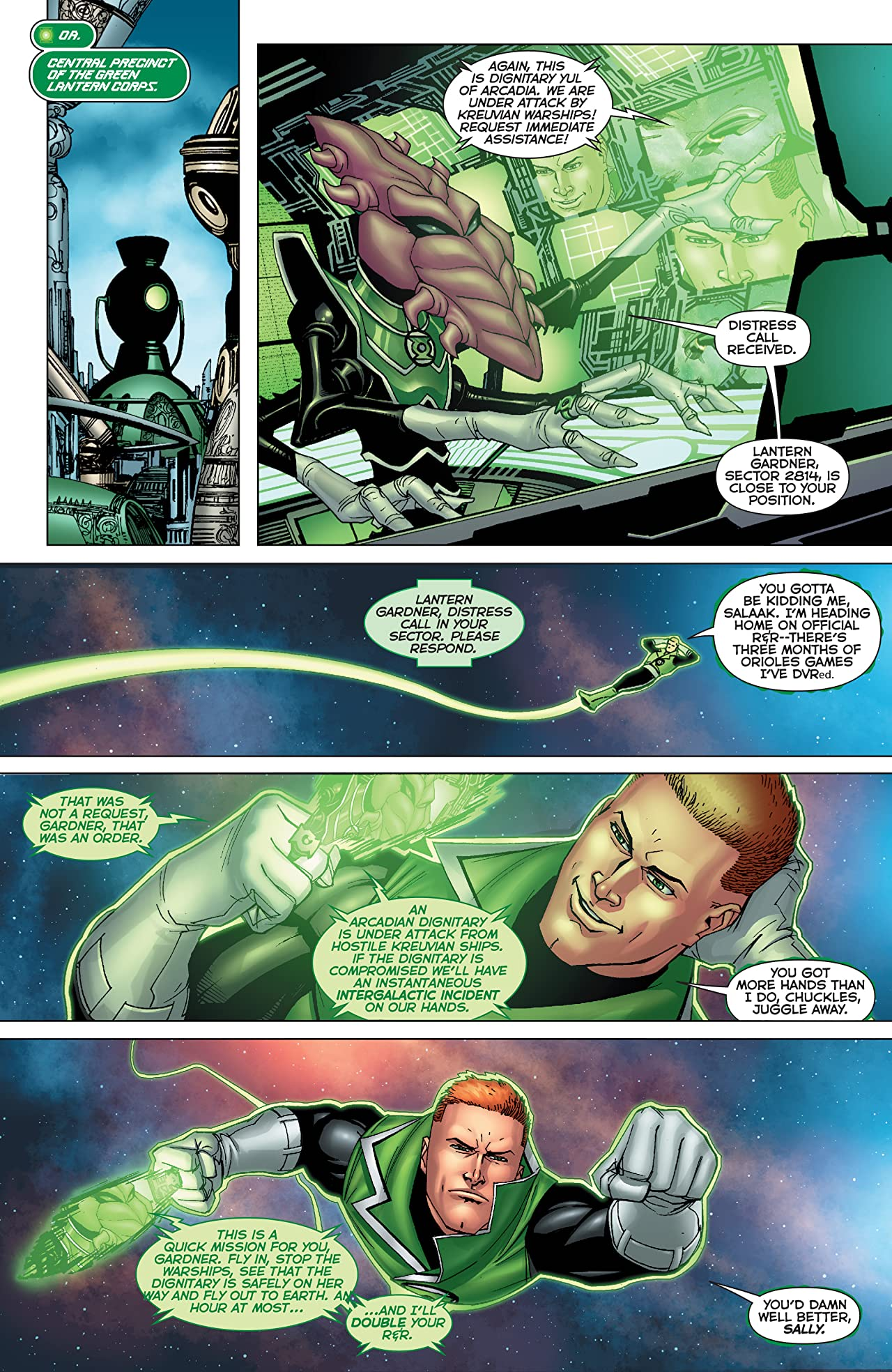 Green Lantern: Emerald Warriors #11