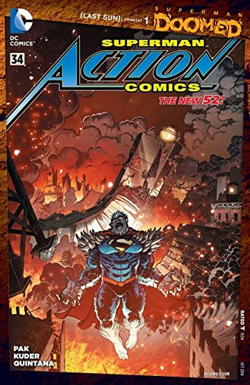 Action Comics (2011-) #34