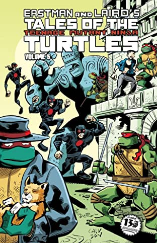 Teenage Mutant Ninja Turtles: Tales of the TMNT Tome 5