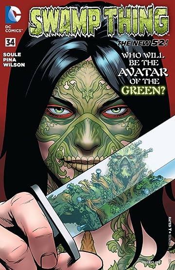 Swamp Thing (2011-2015) #34