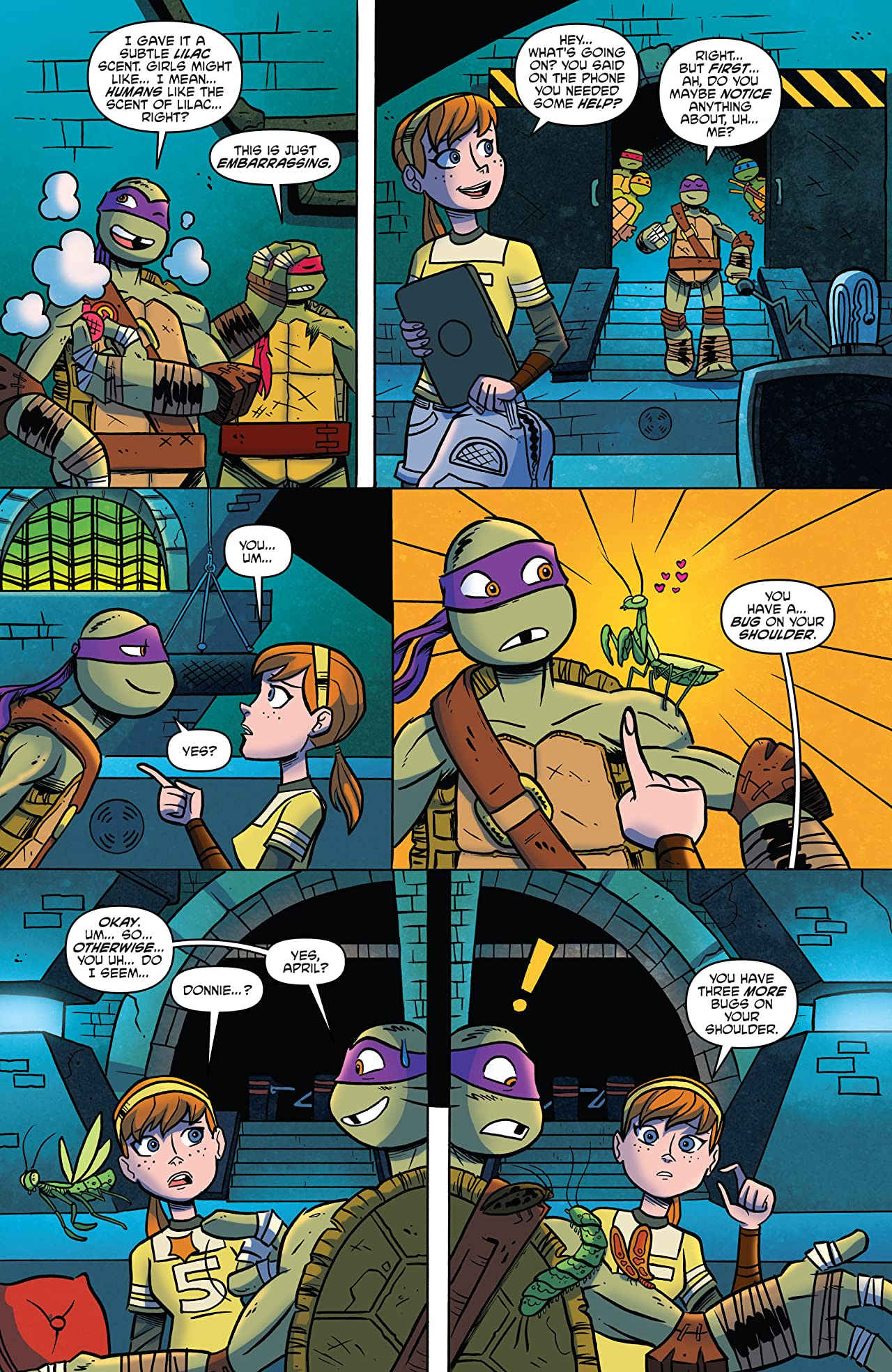 Teenage Mutant Ninja Turtles: New Animated Adventures #14