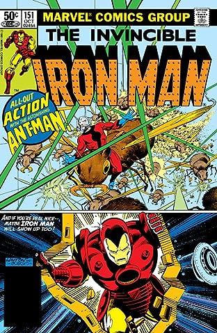 Iron Man (1968-1996) #151