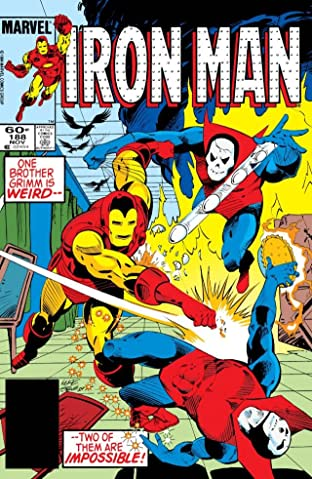 Iron Man (1968-1996) No.188