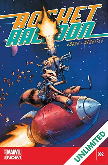 Rocket Raccoon (2014-2015) #2