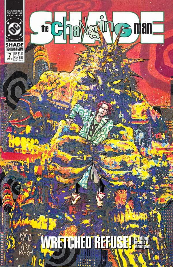 Shade, the Changing Man (1990-1996) #7