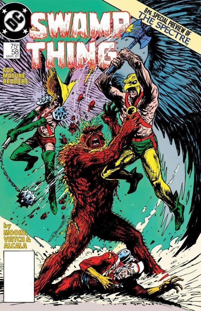 Swamp Thing (1982-1996) #58