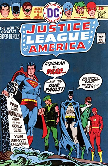 Justice League of America (1960-1987) #122