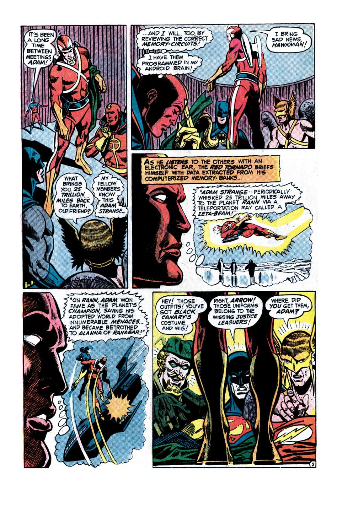 Justice League of America (1960-1987) #121