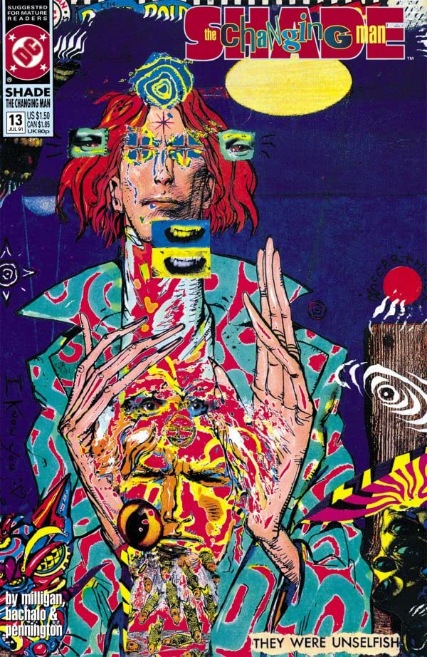 Shade, the Changing Man (1990-1996) #13