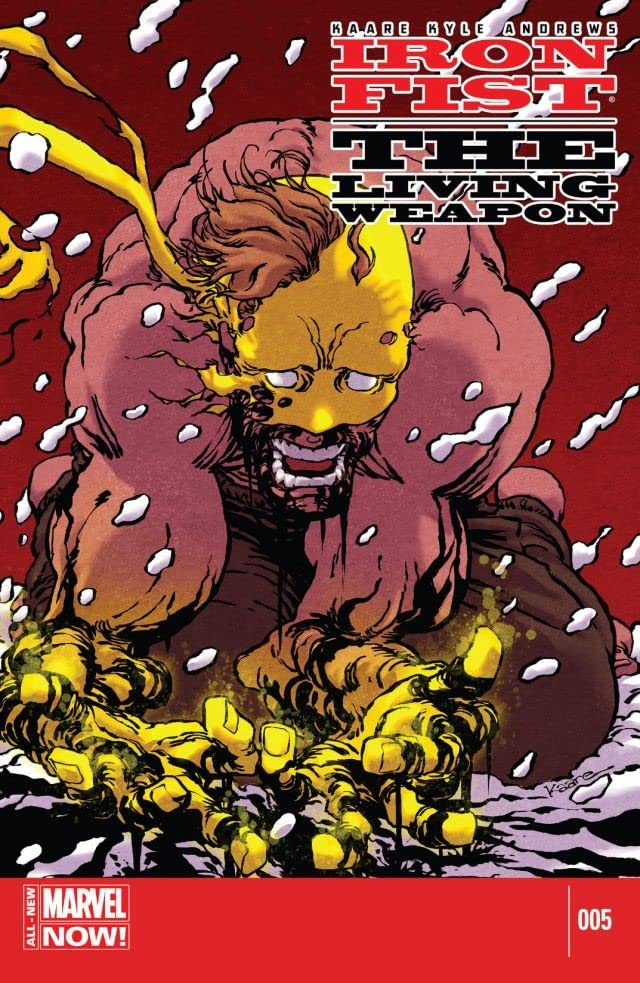 Iron Fist: The Living Weapon #5
