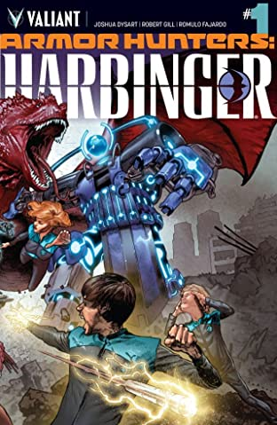 Armor Hunters: Harbinger (2014) #1 (of 3): Digital Exclusives Edition