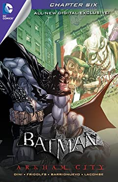 Batman: Arkham City Exclusive Digital Chapter #6