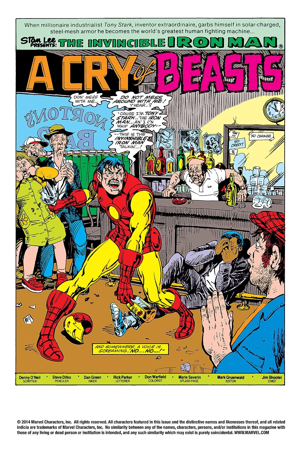 Iron Man (1968-1996) #160
