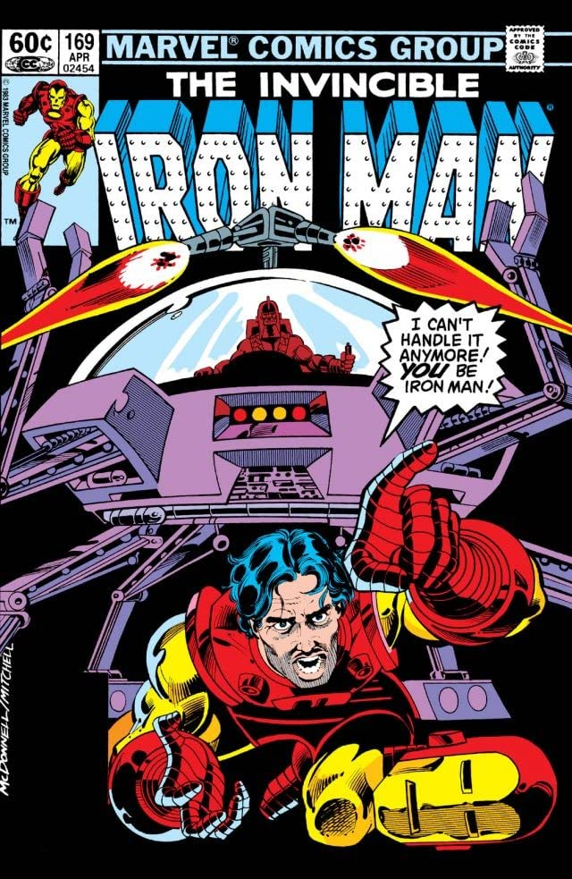 Iron Man (1968-1996) #169