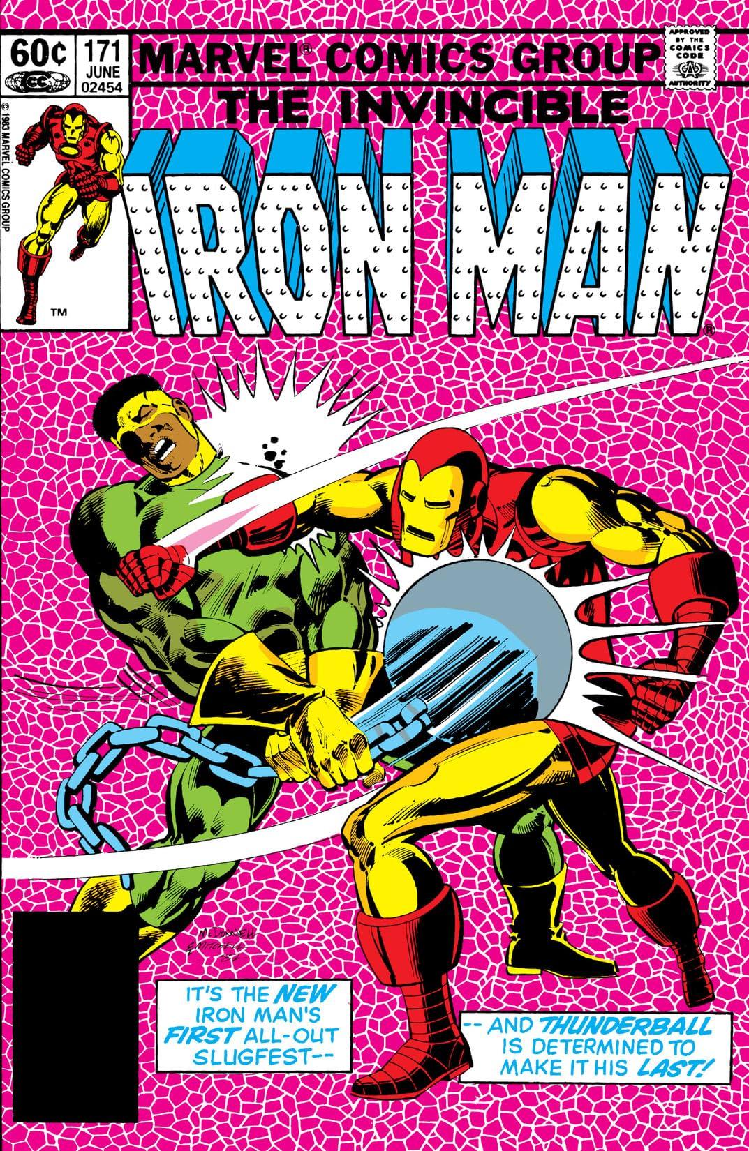 Iron Man (1968-1996) #171
