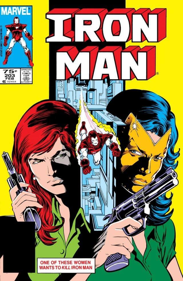 Iron Man (1968-1996) #203