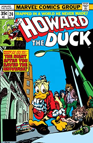 Howard the Duck (1976-1979) #24