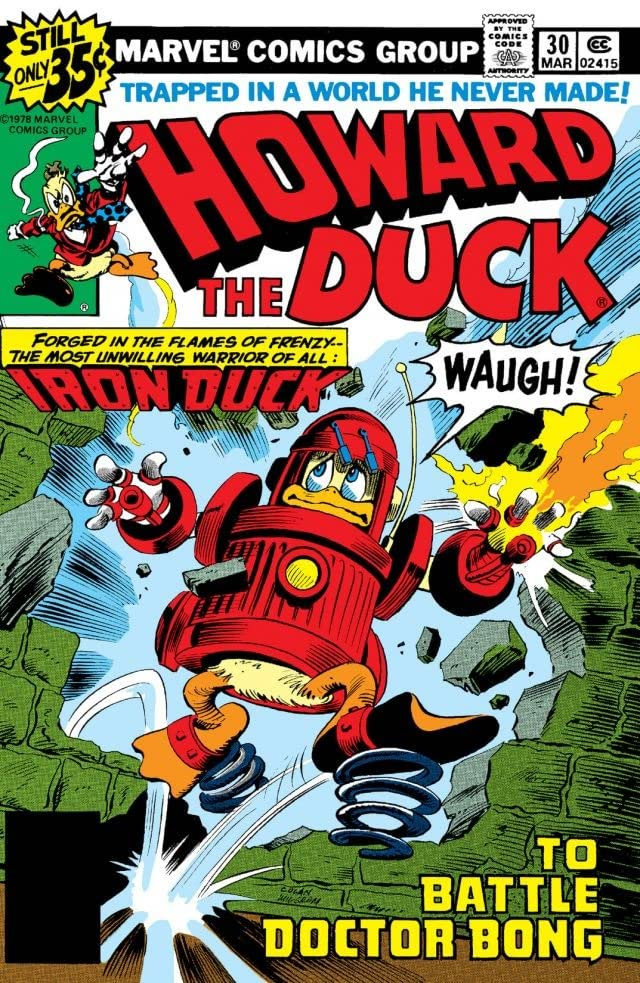 Howard the Duck (1976-1979) #30