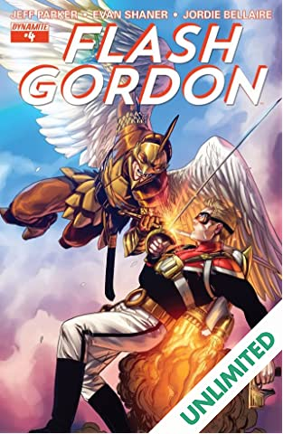 Flash Gordon #4: Digital Exclusive Edition