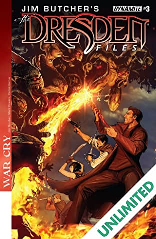 Jim Butcher's The Dresden Files: War Cry #3 (of 5): Digital Exclusive Edition