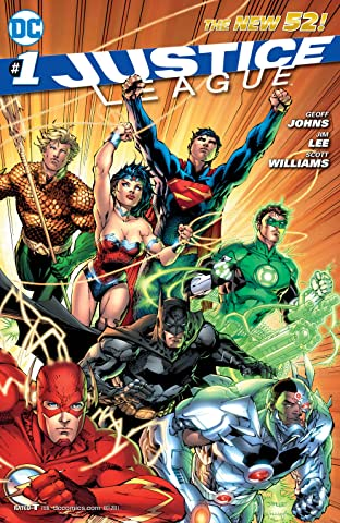 Justice League (2011-2016) No.1