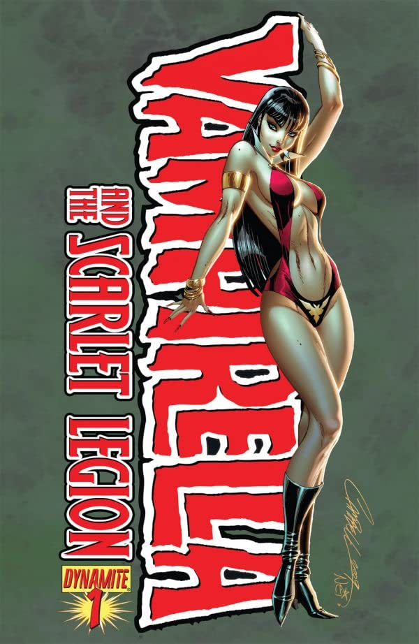 Vampirella and the Scarlet Legion #1