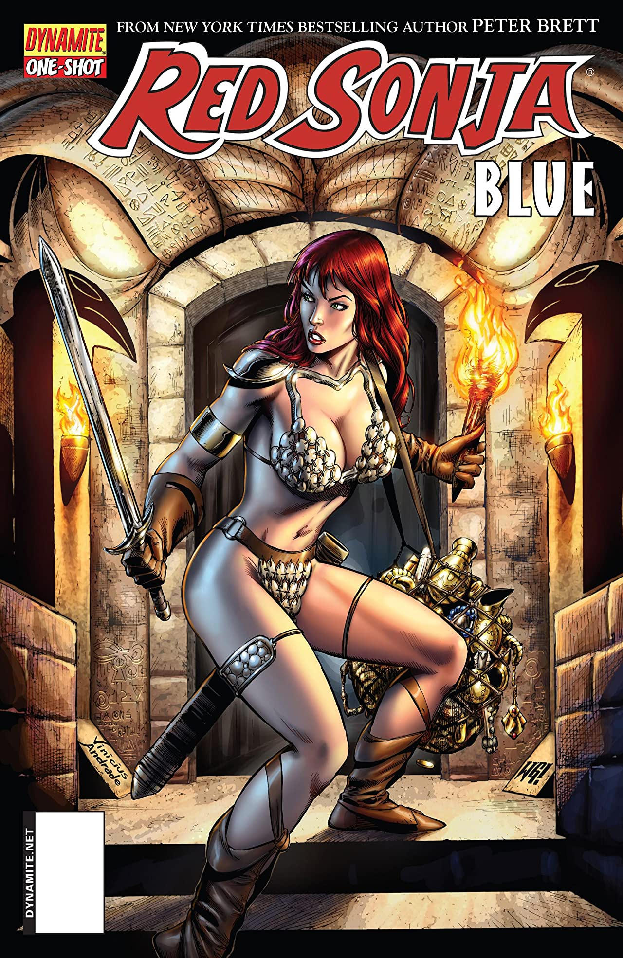 Red Sonja: Blue