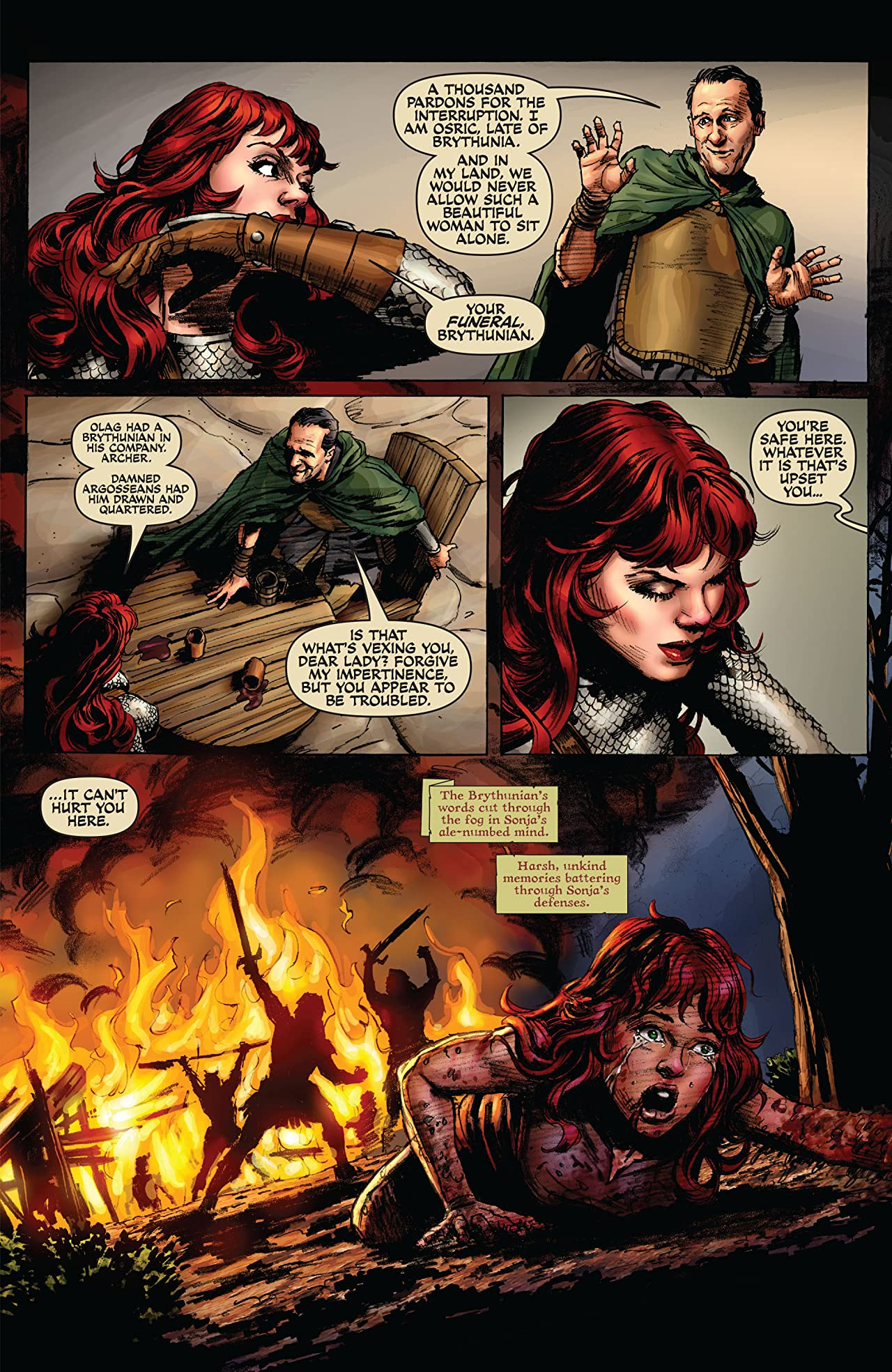 Red Sonja: She-Devil With a Sword #55