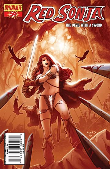 Red Sonja: She-Devil With a Sword #54