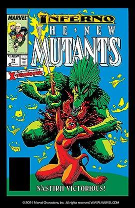 New Mutants (1983-1991) #72
