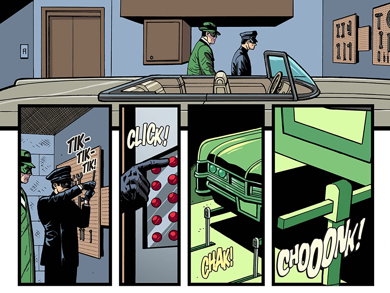 Batman '66 Meets The Green Hornet #7