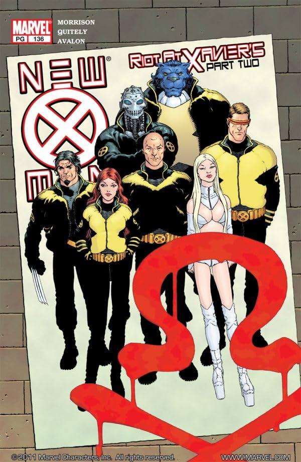 New X-Men (2001-2004) #136