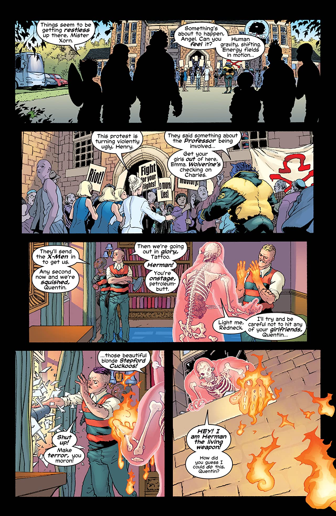 New X-Men (2001-2004) #137