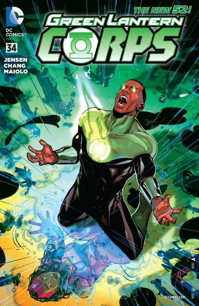 Green Lantern Corps (2011-2015) #34