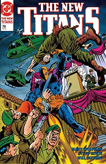 The New Titans (1984-1996) #70